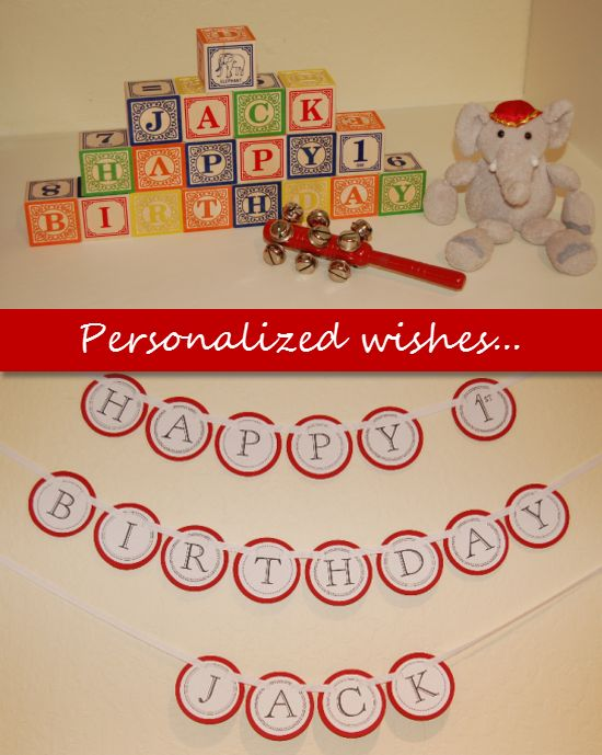 elephant cakes for first birthday baby | elephant birthday theme banners