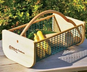 Wonderful Garden Hod Basket Traditional Gardening Tools