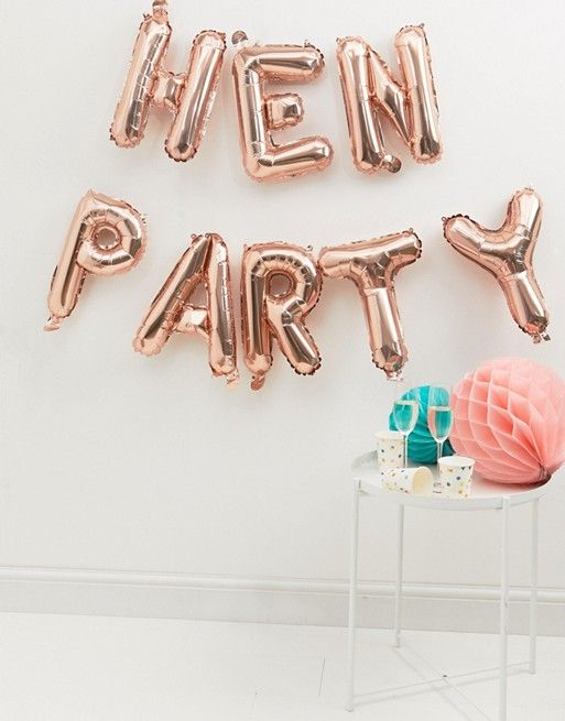 Ginger Ray Hen Party Balloons