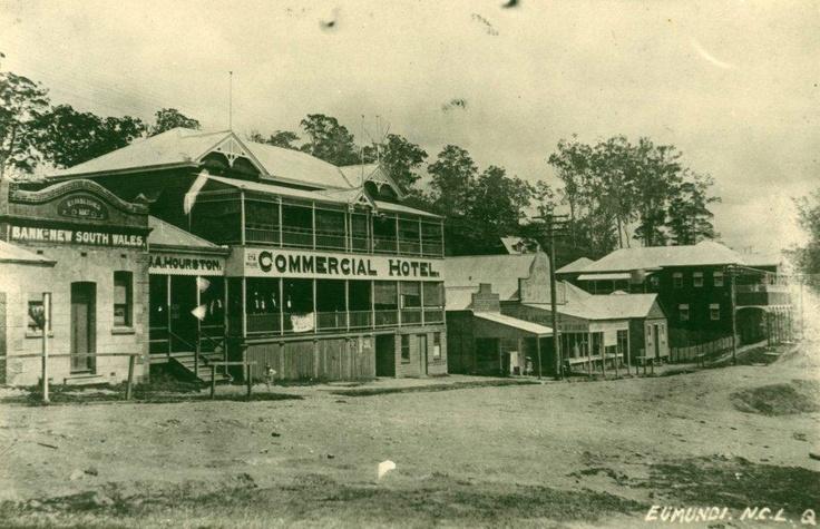 Eumundi Main Street early 1900's