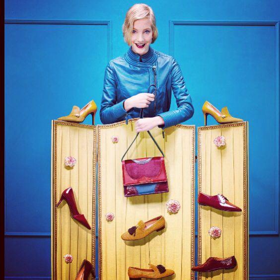 we're feeling #shoeaholic! #shoes #rossettiworld #footwear #style #color #burgundy #mustard