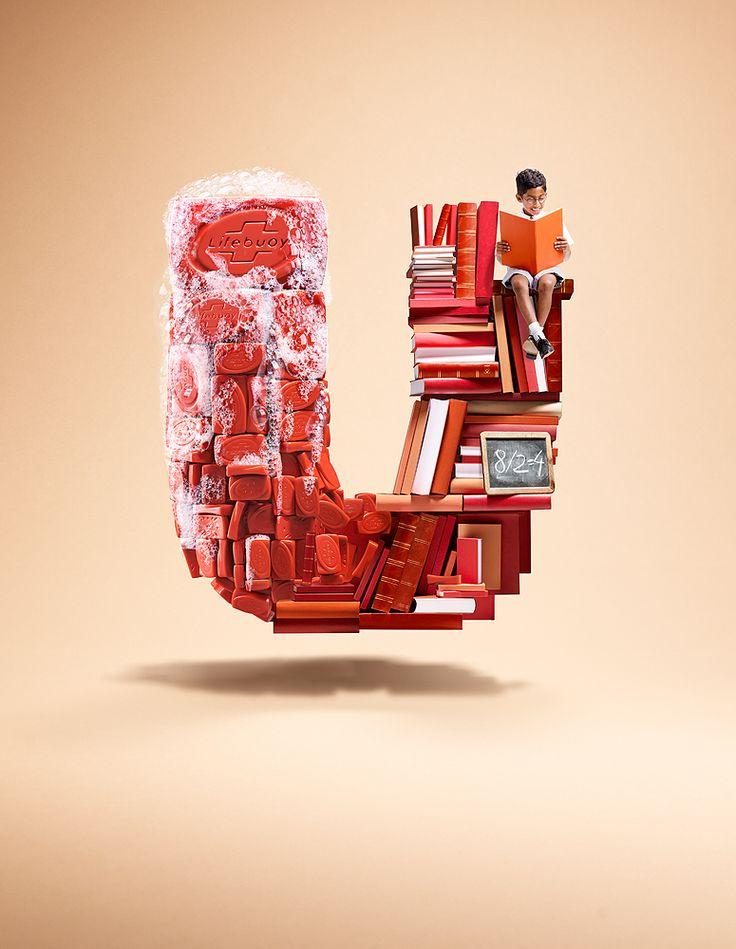 U de Unilever por Christian Stoll   ComunicadoresAdvertising Pub, Artists, Unilever Logo, Advertis Work, Ogilvy Mather, Graphics Design, Prints, Types, Christian Stoll