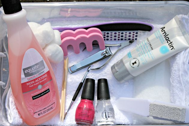Pamper Yourself With The Perfect Home Pedicure supplies