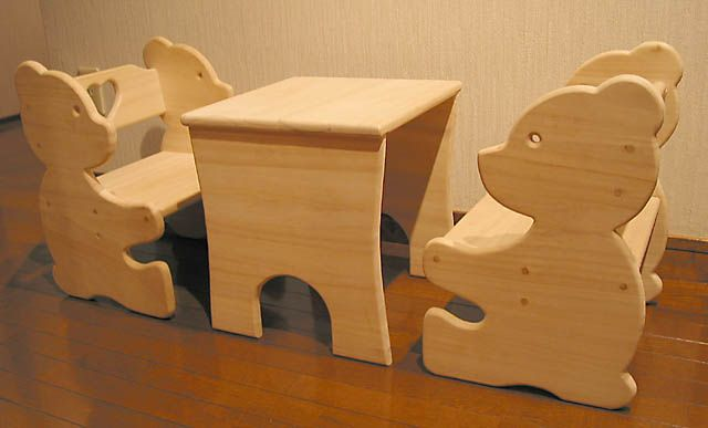 children's table set