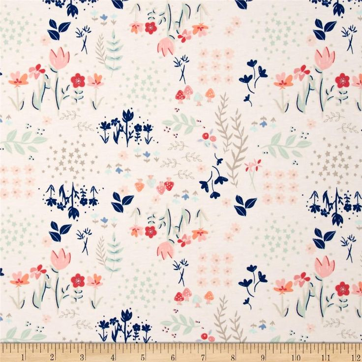 391 best fabric images on pinterest for Knit fabric childrens prints