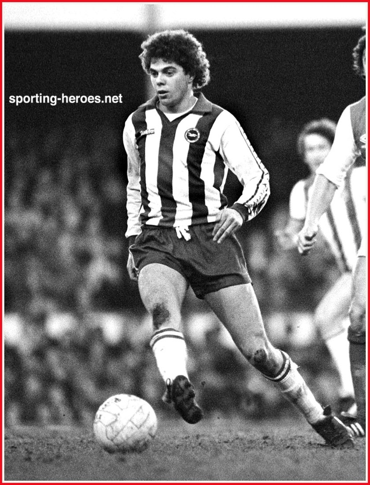 Peter Ward - one of Brighton & Hove Albion's greatest goalscorers