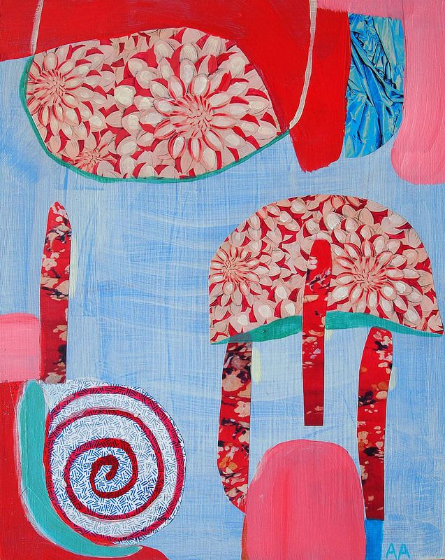 Umbrellas and Drops | by alexandra ackerman