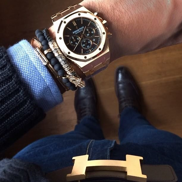 confessions-of-a-snob: Audemars Piguet Royal Oak Chronograph x Northskull &…