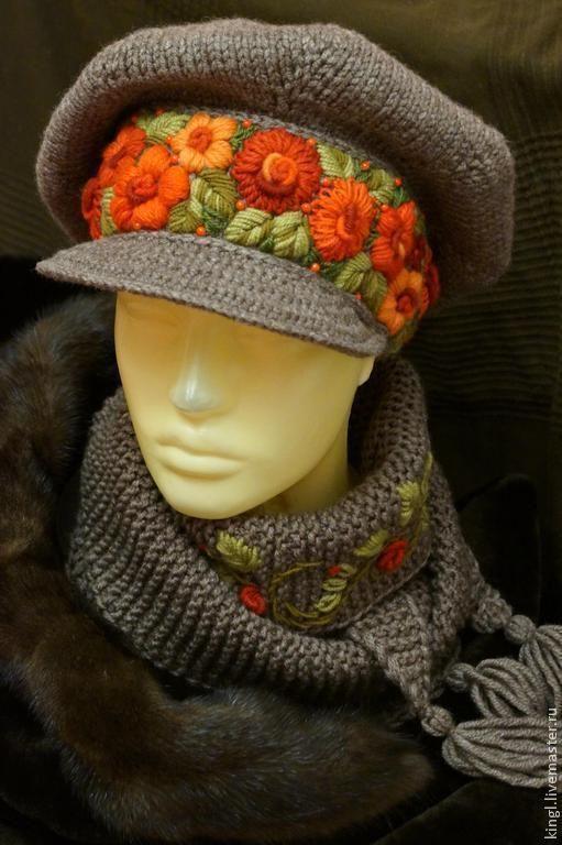 Магазин мастера Королевские Штучки от Елены Король (kingl): шапки, варежки, митенки, перчатки, комплекты аксессуаров, большие размеры, шляпы