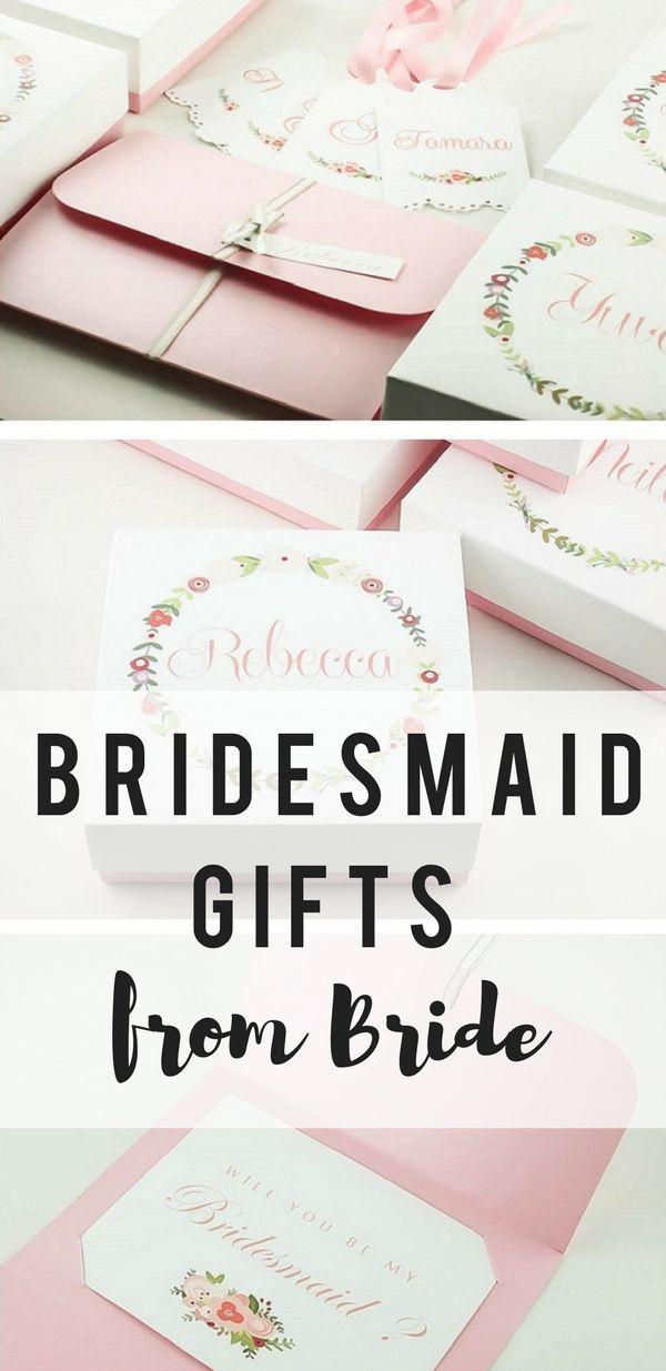 Unique bridesmaid gifts form bride, a complete bridesmaid gift set: let's customize it!  #demoiselledhonneur #damadehonor #brautjungfern #trauzeugin Dama de honor caja, Demoiselle honneur cadeau, Brautjungfer fragen, Trauzeugin geschenk