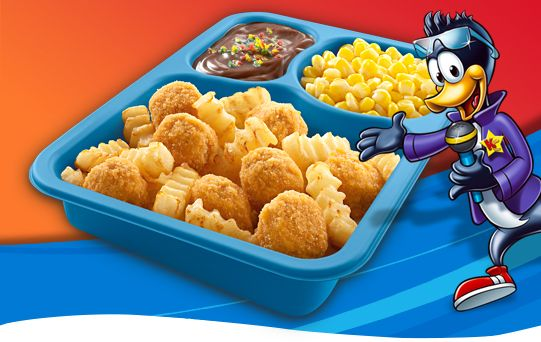 Popcorn chicken kids cuisine meal advertising revamp for Are kid cuisine meals healthy