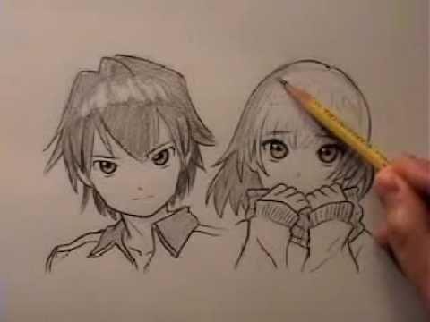 Como dibujar animes facil y rápido - Taringa!