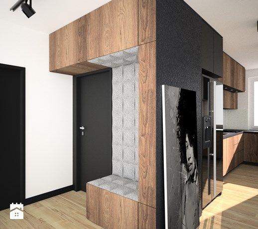 Aranżacje wnętrz - Hol / Przedpokój: Projekt mieszkania w Czeladzi - Hol / przedpokój, styl nowoczesny - OES architekci. Przeglądaj, dodawaj i zapisuj najlepsze zdjęcia, pomysły i inspiracje designerskie. W bazie mamy już prawie milion fotografii!
