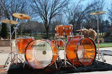"LUDWIG 26"" DOUBLE BASS, JOHN BONHAM LED ZEPPELIN REISSUE DRUM SET MUST SEE THIS!"