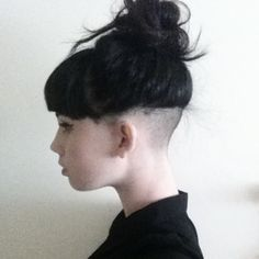 42 best undercuts with ponytail images on pinterest undercut ponytail women undercut google search urmus Images