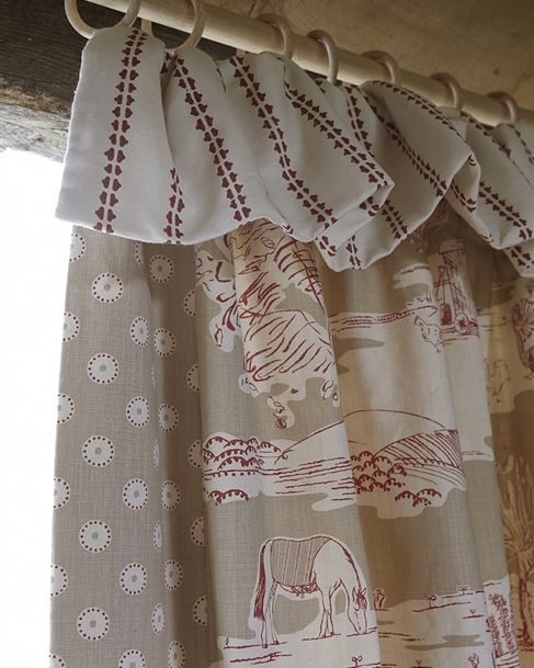 Made to Measure Curtains with Custom Designer Fabric - Vanessa Arbuthnott
