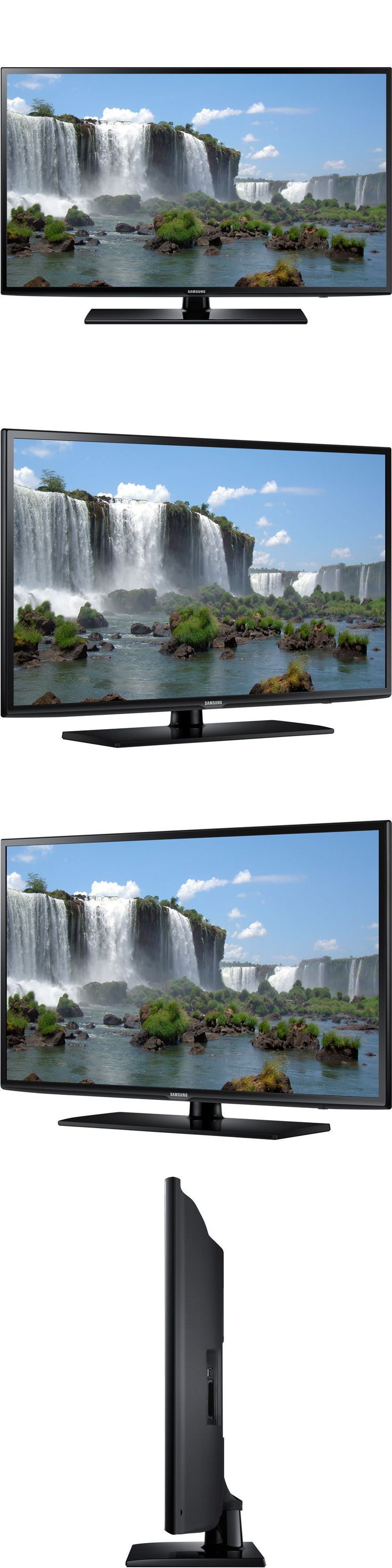 Televisions: Samsung Led Un55j6201 55 Inch Smart Hd Tv 1080P 60Hz Class BUY IT NOW ONLY: $419.0