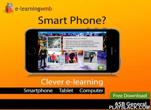 Anti Social E-Learning  Android App - playslack.com , Anti Social Behaviour for General Employees: This e-learning course has been designed to give guidance to employees and contractors on recognising anti-social behaviour and what to do to control it.The e-learning is a cut down version of the full course which is available to purchasers of the Pro version of the App and those who register online via the Internet.e-Learning WMB can in addition customise this app or create a new…