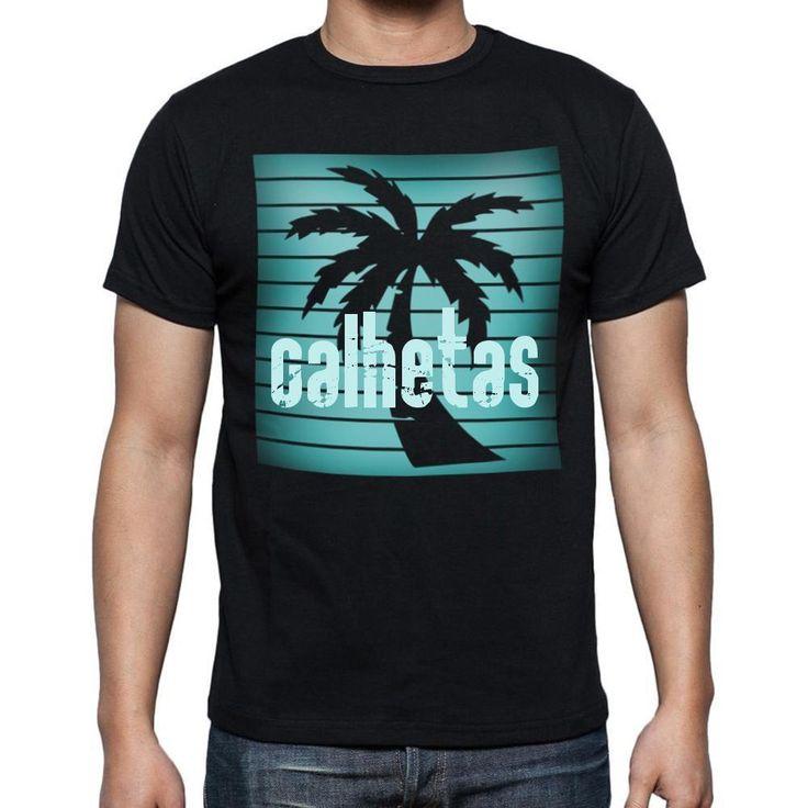 calhetas, beach holidays in calhetas, beach t shirts, Men's Short Sleeve Rounded Neck T-shirt