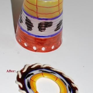 Shrinky Craft made with Plastic Cups