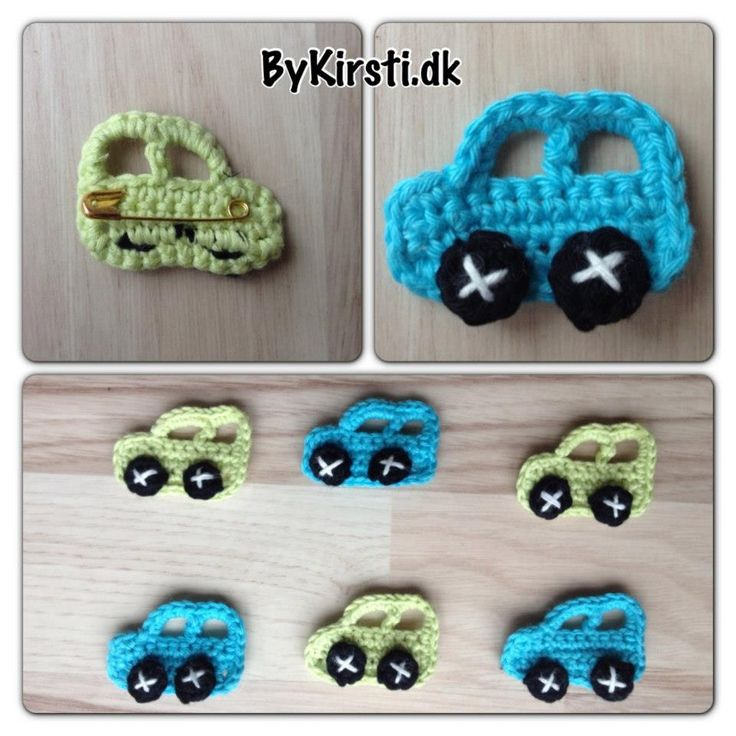 Small cars for the mosquito net  Price: 2usd.   The pattern are available on Ravelry here: http://www.ravelry.com/patterns/library/small-mosquito-net-cars   If you would like to purchase this pattern without using Ravelry, please send $2 to kirsti_mt@hotmail.dk using paypal  You can also leave your paypal email adress and then I wil send an invoice.
