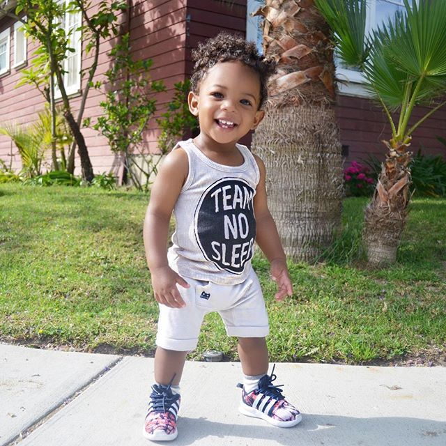 Pin for Later: Nia Ali's Son, Titus, Will Win Your Heart With His Precious Smile