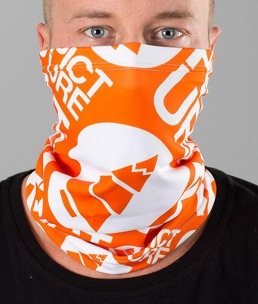 Picture - Base Logo Facemask Orange - Ridestore.com