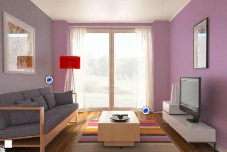 comex tonos lila decoraci n casa pinterest
