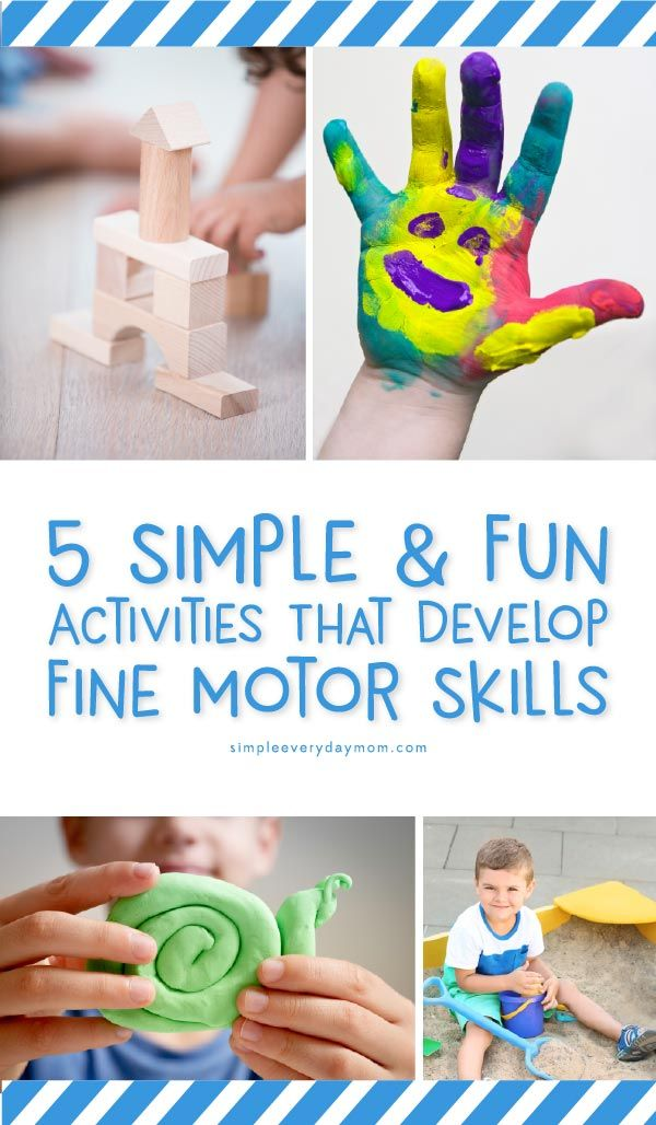 6 Simple Fine Motor Skill Activities For Preschoolers Preschool Fine Motor Activities Fine Motor Skills Activities Preschool Craft Activities