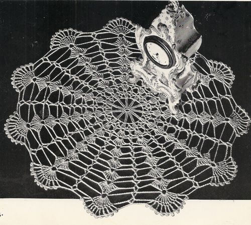 516 best crochet doily patterns vintage images on pinterest minute magic easy crochet doily pattern this crochet pattern contains directions to create the doily dt1010fo