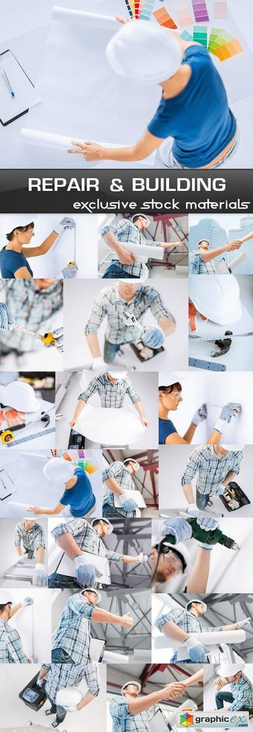 Repair and Building 25xUHQ JPEG  stock images