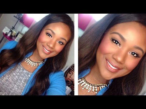 Fresh + Flawless EVERYDAY Makeup Tutorial 2015 | Frühlings-Make-up für braune Augen – …