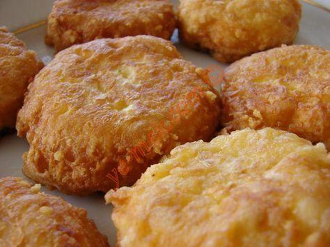 Peynirli Patlıcan Kızartması Resimli Tarifi - Yemek Tarifleri