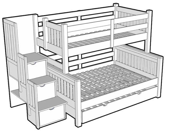 les 25 meilleures id es de la cat gorie lit superpos escalier sur pinterest lits superpos s. Black Bedroom Furniture Sets. Home Design Ideas