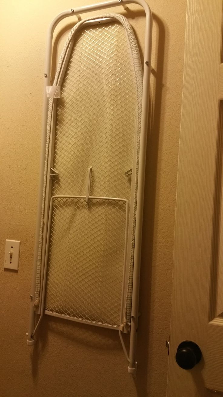 DIY Wall Mounted Ironing Board Estimated Time of Project : 30min - 1hr, depending on your proficiency Cost: $30 Generally speakin...