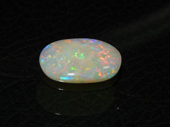 Australian Opal Loose Gemstone Cabochon Very Rare by manzoorgems