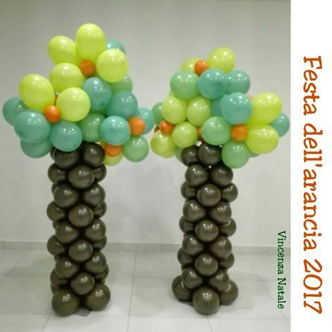 Balloon art - alberi di palloncini