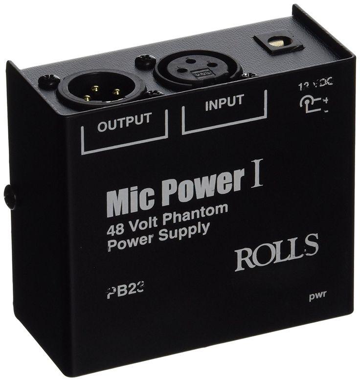 rolls PB23 1 Channel Phantom Power Adapter