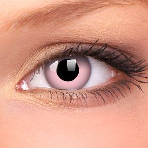 Barbie Pink Crazy Contact Lenses (Pair)