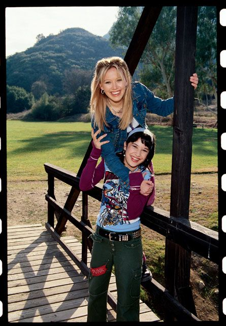 Lizzie McGuire.  I used to get the best style inspiration from that show!  Miranda was my style icon (but Lizzie had some good outfits too!)