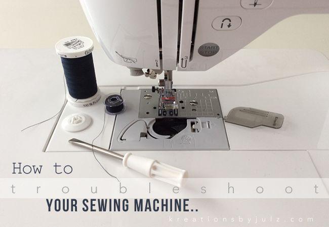 bernina sewing machine troubleshooting