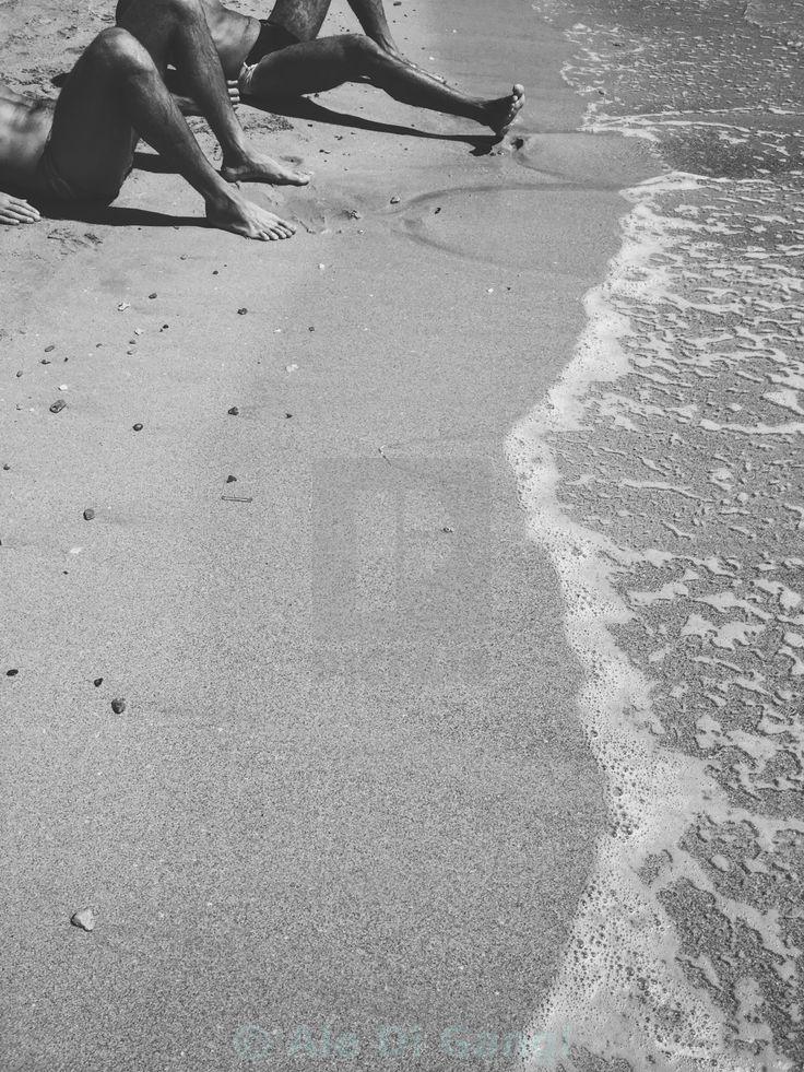"""Men ashore"" by Ale Di Gangi - £10"