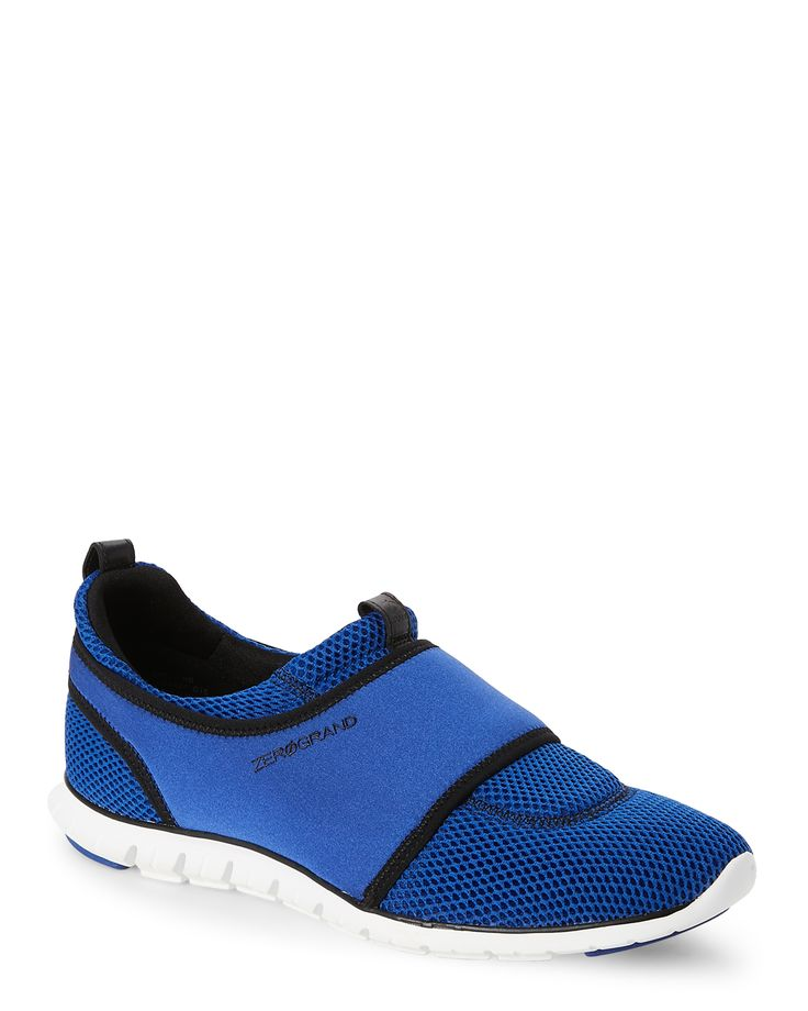 Cole Haan Bristle Blue Zero Grand Slip On Sneakers