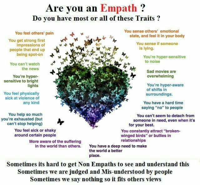 Empath dating a narcissist
