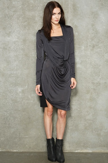 Surface To Air Turn Fluid Jersey Dress  #uostyle