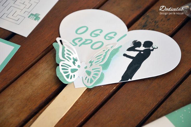 segnaposto personalizzato per gli sposi