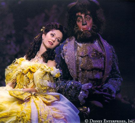 Beauty and the Beast Broadway - Susan Egan and Terrence Mann <3