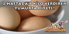 2 Haftada 8 kilo verdiren yumurta diyeti ile hem zorlanmadan, hem de aç kalmadan zayıflamak mümkün ! İşte o diyet listesinin ayrıntıları....