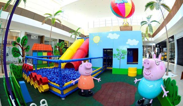 Playground da Peppa Pig chega a Macaé