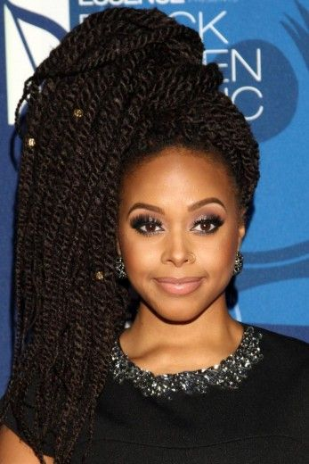 Chrisette's Coif at #BlackWomenInMusic